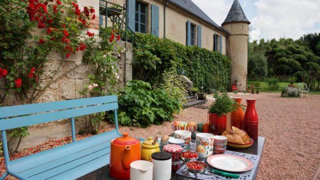 chambres d'hôtes zoeken chateau etienne-ontbijt