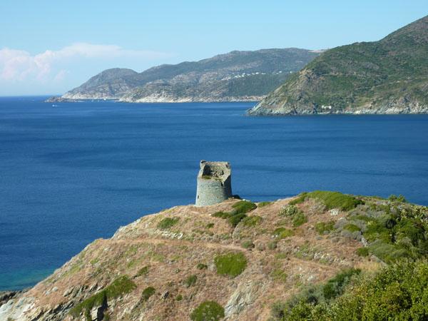 La côte Ouest du Cap Corse