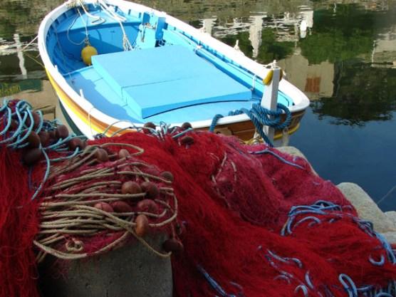 Bateaux de pêcheurs du Cap corse