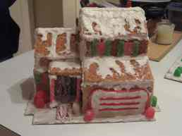 2011: The builder's own house, with remarkable accuracy