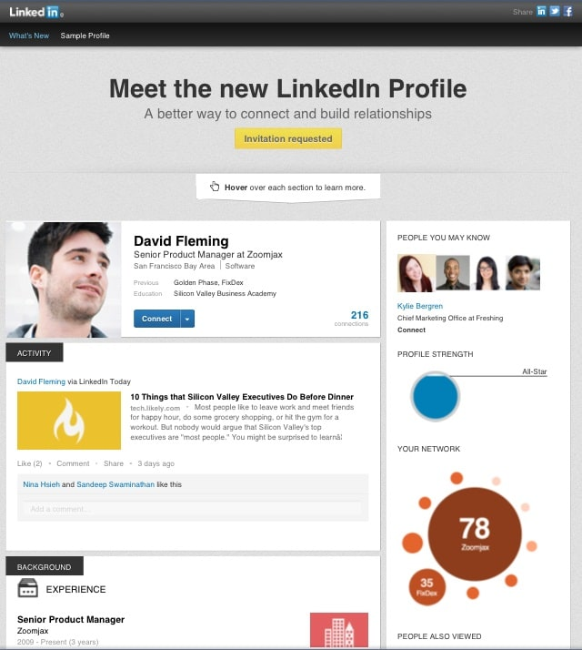 how the new linkedin profile can affect your job search