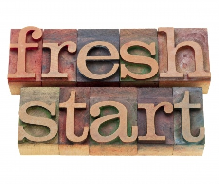 It's time for a fresh start!
