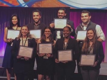 Chloe Talana and fellow students