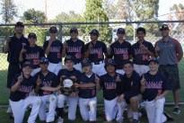 Delphic Orange Baseball 7th grade