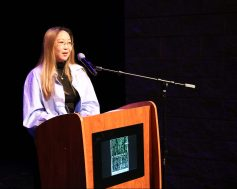 "Xiaoyun Pang, winner for Best Documentary for ""Ingenuity"""