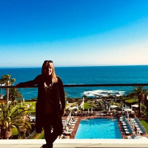 Eileen Callahan at the Montage resort in Laguna Beach Califorina
