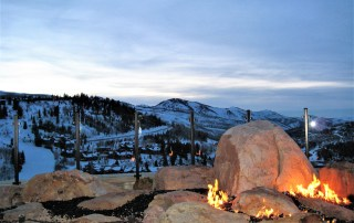 Eileen Callahan Luxury Travel Expert of Champagne Travels in the Mountains of Deer Valley Utah at the St. Regis Hotel