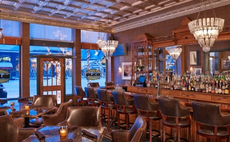 Eileen Callahan Luxury Travel Expert of Champagne Travels in Aspen Colorado at Hotel Jerome