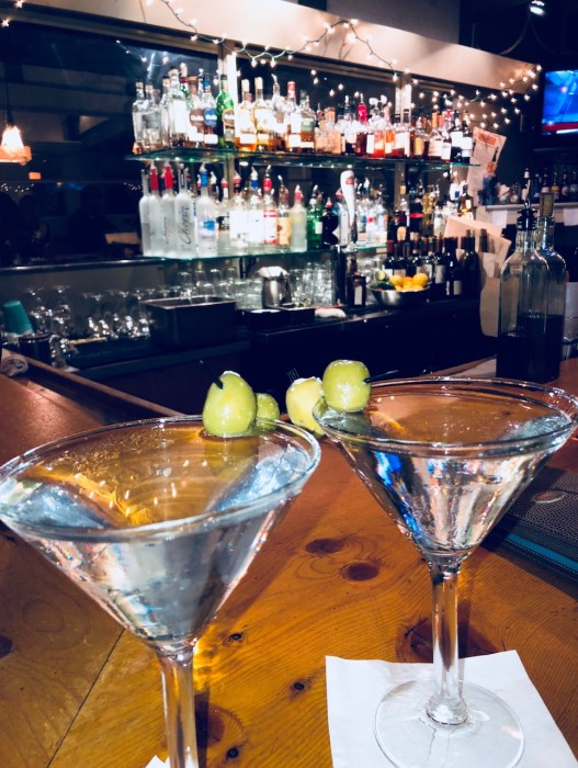 Luxury Travel Writer Eileen Callahan of Champagne Travels enjoys Grey Goose Martinis