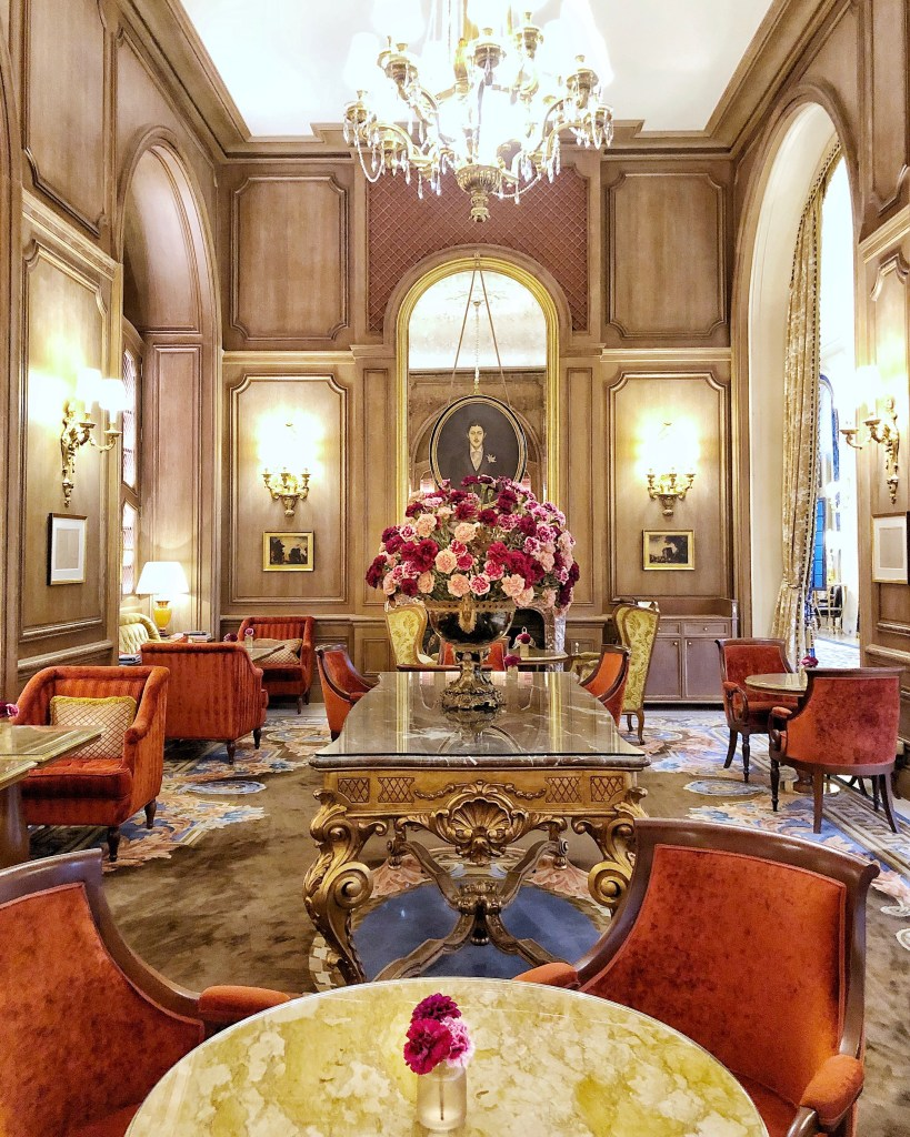 Eileen Callahan of Champagne Travels Luxury Travel Website at The Ritz Paris France