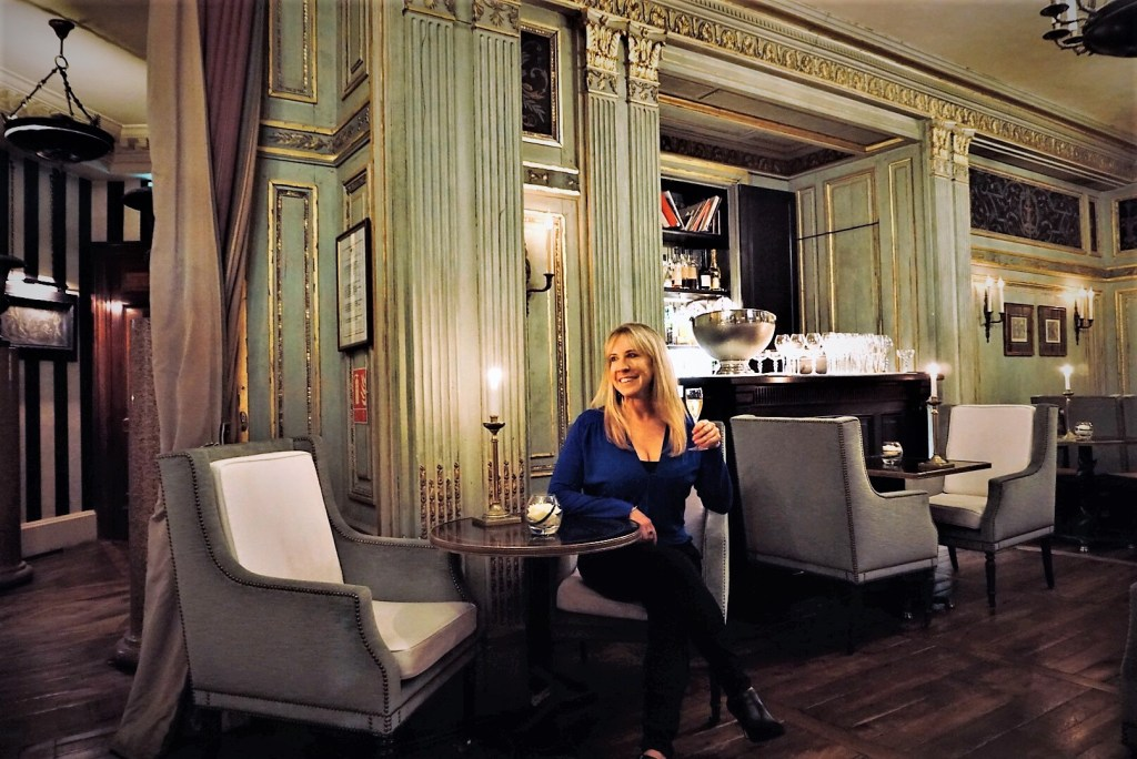 Eileen Callahan of Champagne Travels at Le Dokhan's, a Tribute Portfolio Hotel in Paris France
