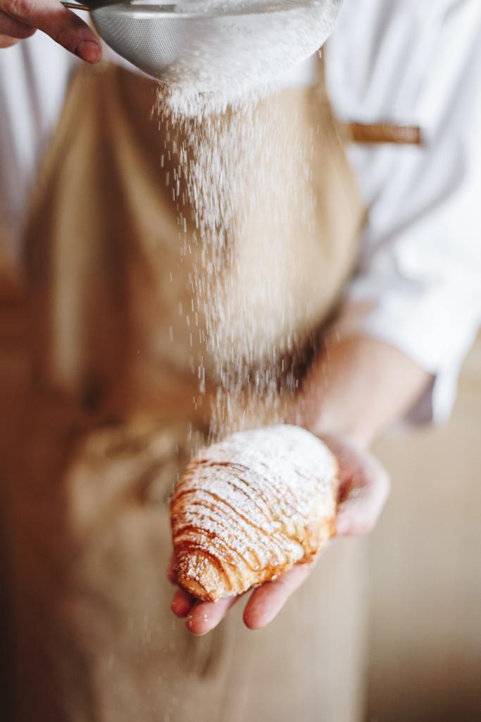 Making croissants in Paris