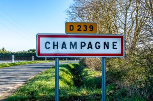 Panneau Champange