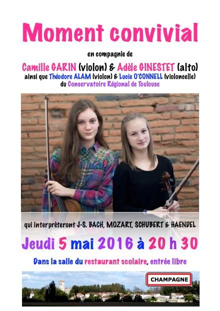 Concert 5 mai 2016