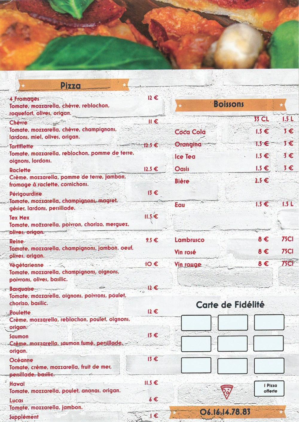 Pizza Verso