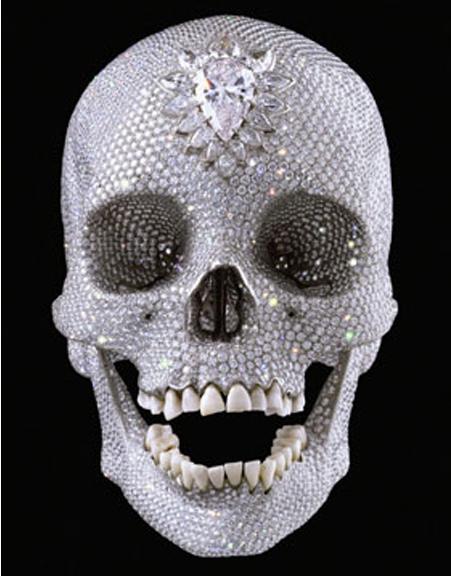 damien-hirst-diamond-skull