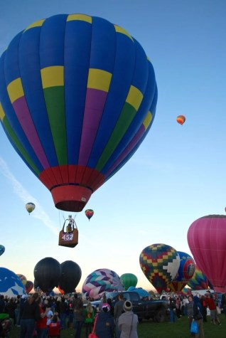 Albuquerque New Mexico Hot Air Balloon Festival