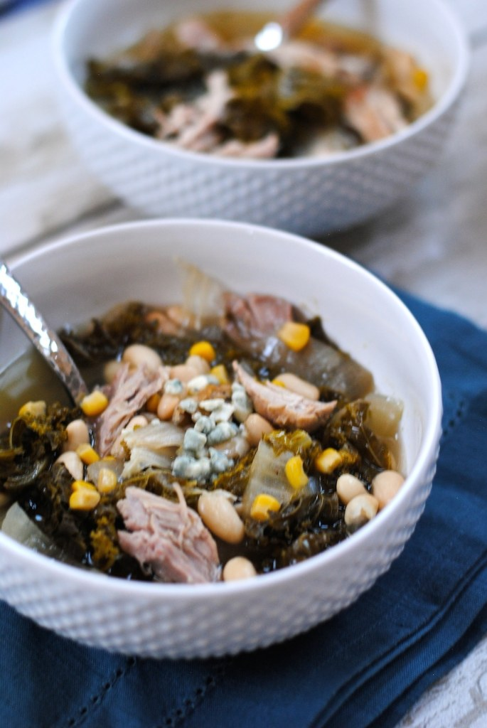 Healthy Pork & White Bean Slow Cooker Recipe