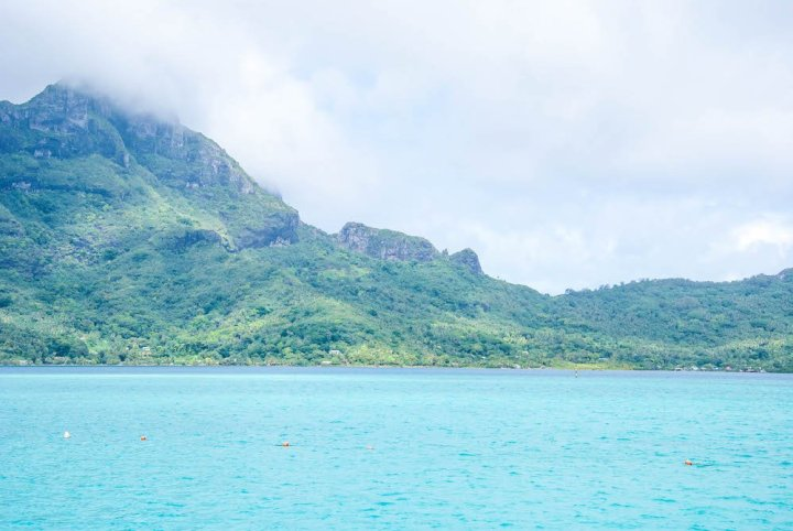 Bora Bora by Sea