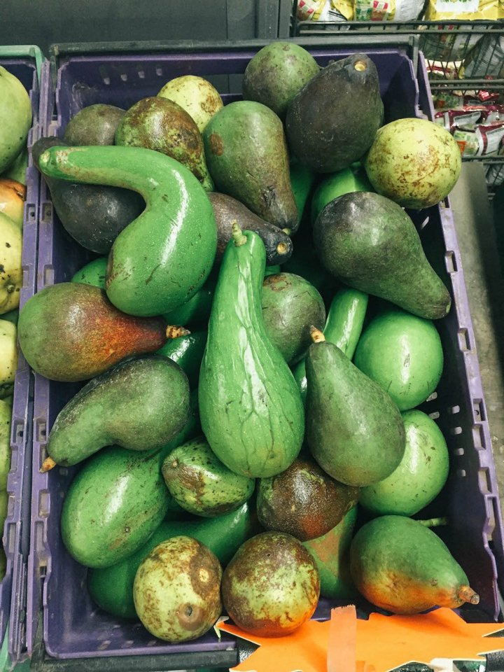 Best Bites in Bora Bora - Avocado at the Local Grocery Store
