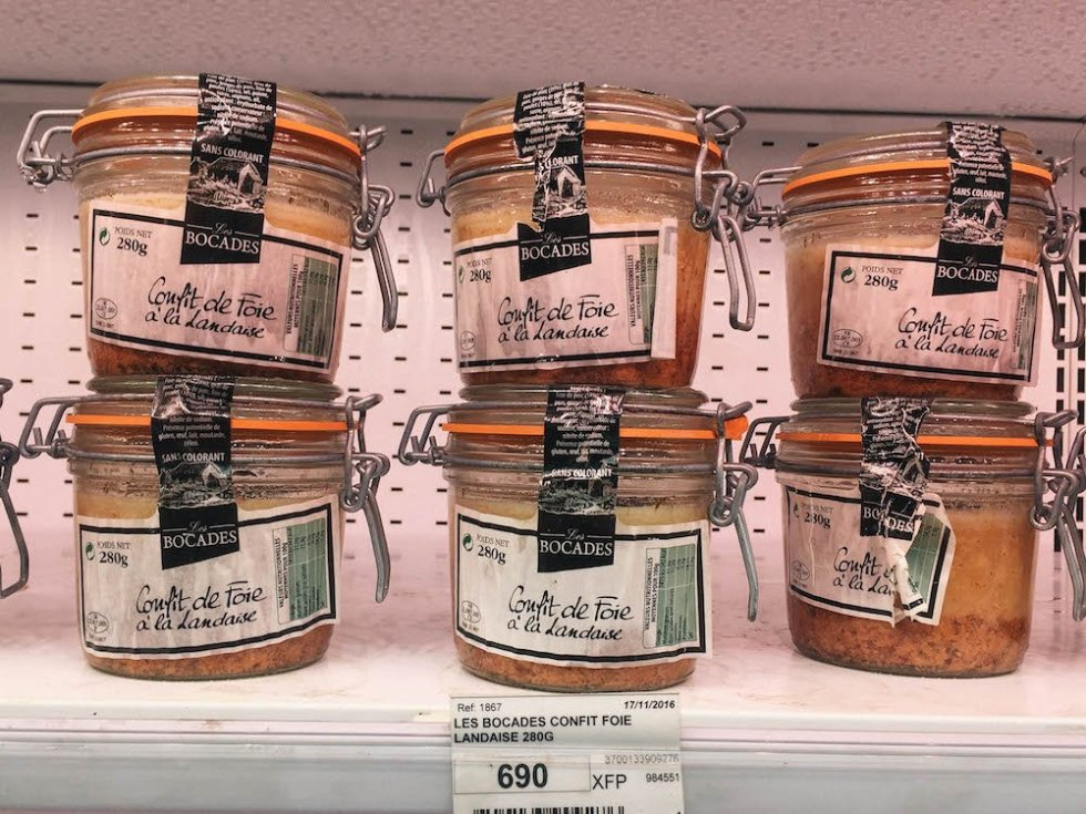 Best Bites in Bora Bora - Pate at the Local Store