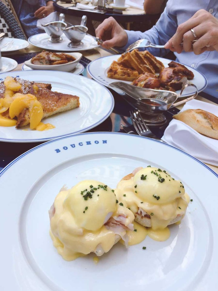 Brunch at Bouchon in Las Vegas