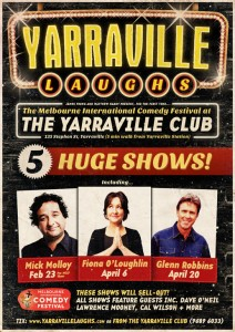 Yarraville Laughs at The Yarraville Club