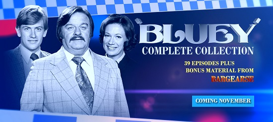 Crawfords DVD releasing the original Bargearse - Bluey - on DVD.