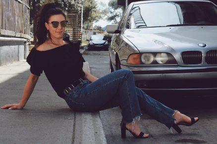 Mes mom jeans que j'adore (photo: Pascale Messervier)