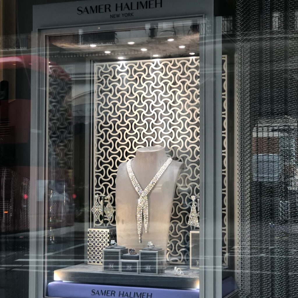 , SAMER HALIMEH; Knightsbridge Flagship Boutique, Victoria's Jewelry Box