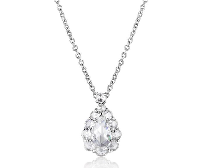 BAYCO - ROSE-CUT DIAMOND PENDANT