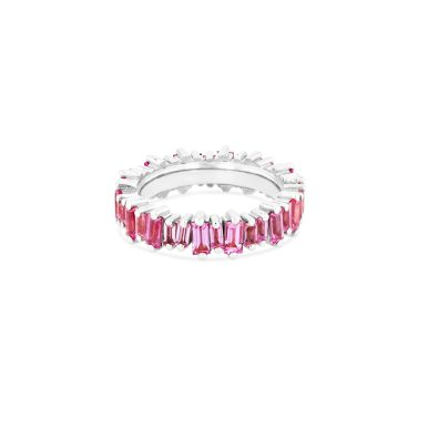OPTION 2 SUZANNE KALAN - 18K PINK SAPPHIRE BAGUETTE ETERNITY BAND
