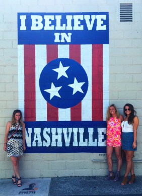 Spontaneous Girls Weekend in Nashville featured by top Nashville blogger, Champagne Getaway