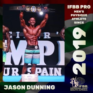 IFBB Pro Mens Physique Jason Dunning