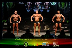 Classic Physique Class C Up to 183cm
