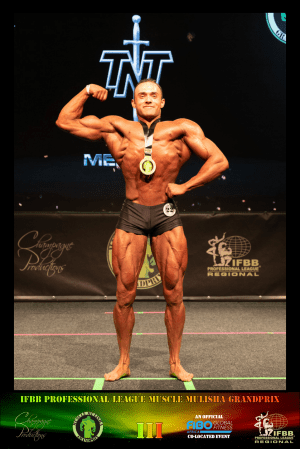 MMGPIII Classic Physique Juniors Winner - Louis Tverdon