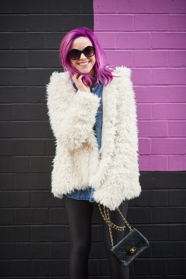 champagne thursday jess levy boston style fashion blogger teddy bear coat