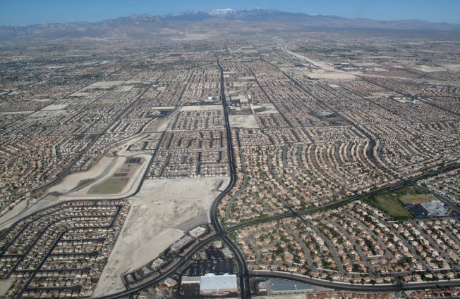 Las Vegas, Nevada Source: Ecoflight
