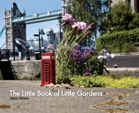 Steve Wheen has a book out on his tiny garden installation project.