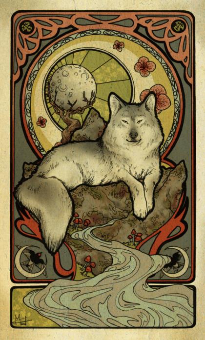 Gray wolf Image: Womaneko/Deviantart