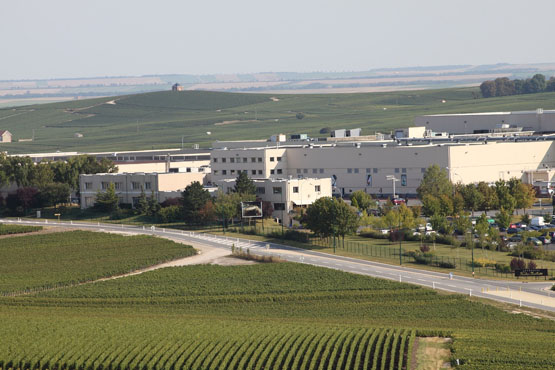 The Nicolas Feuillate facility in Epernay, France.