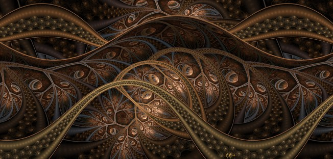 Seeds 2 (pure fractal flame) Artist: Cory Ench via Fractal World Gallery