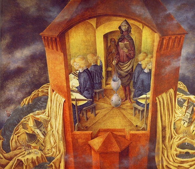 Embroidering the Earth's Mantle Artist: Remedios Varo
