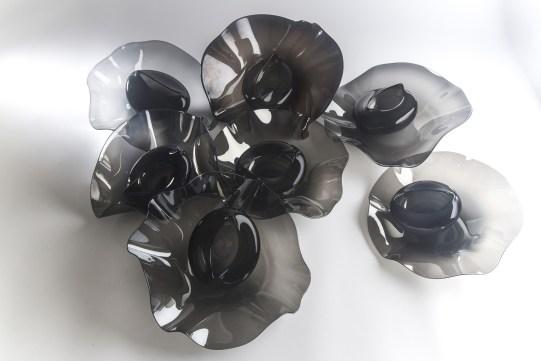 Corolla (2014) blown glass Photo: Antoine Brodin