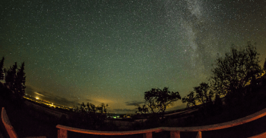 Dark Sky Communities, Udsigten, Møns, light pollution, darkness, night time