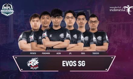 Hasil MPLI Hari Kedua Match 8 : Evos SG Melaju Ke babak Selanjutnya