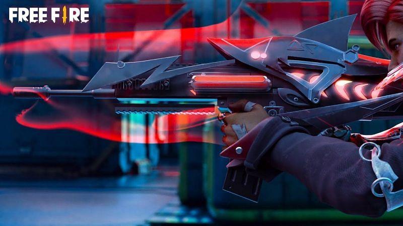 SCAR Megalodon Alpha Lv Max Jadi Skin Free Fire Termahal, Hampir Menyentuh 3 Juta!