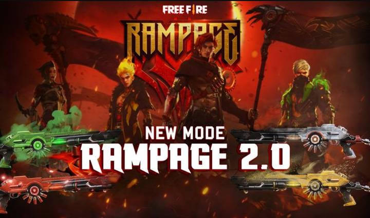Rampage Mode Free Fire (FF) Hadir Lagi Mulai 8-10 Januari 2021