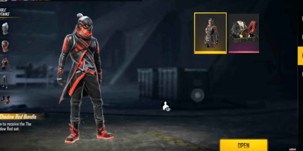 The Shadow Red Bundle FF, Begini Cara Mendapatkannya