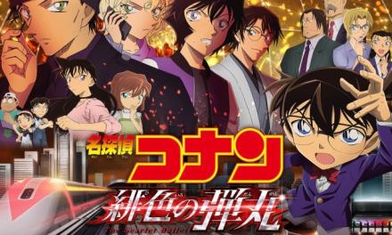 Sinopsis Detective Conan : The Scarlet Bullet, Tayang Di Bioskop Mulai 21 April